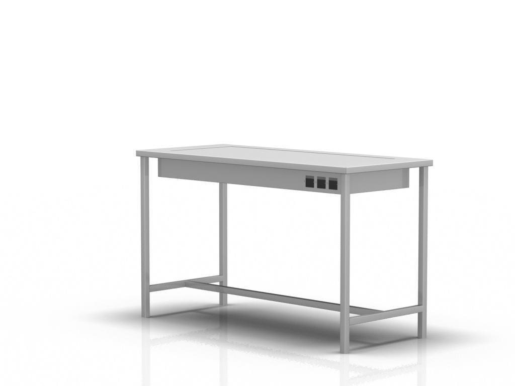 Stół z podświetlanym blatem