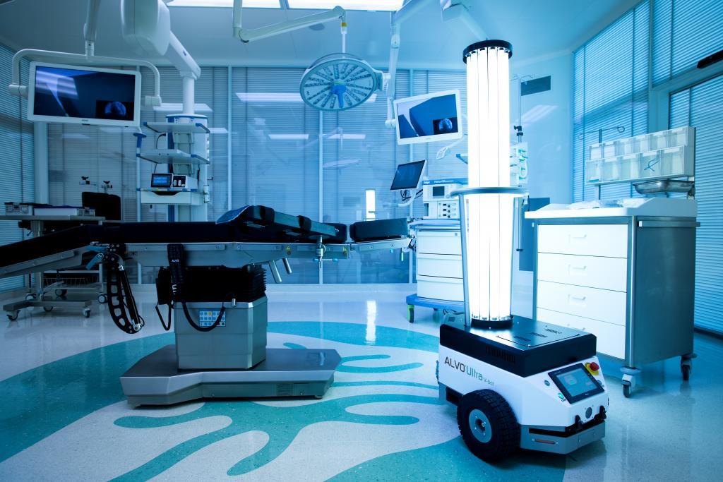 ALVO® Ultra V-bot ▪ robot do biodekontaminacji