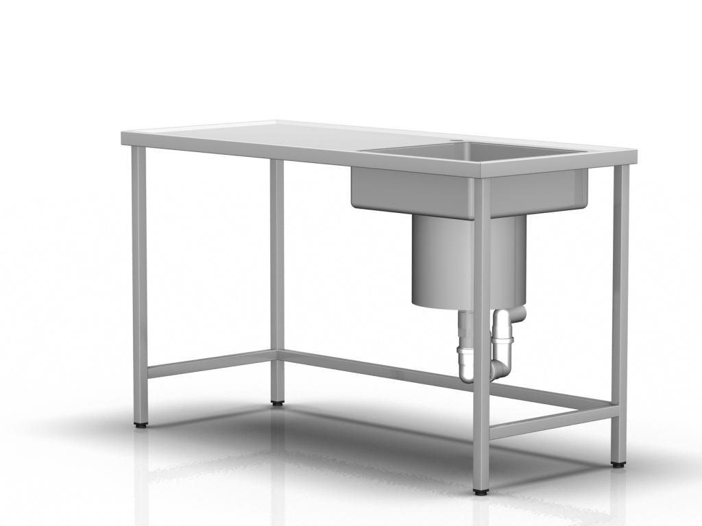 Stół do opasek gipsowych, bez zabudowy
